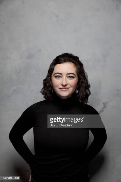 Actress Abby Quinn from the film Landline is photographed at the 2017 Sundance Film Festival for Los Angeles Times on January 23 2017 in Park City...