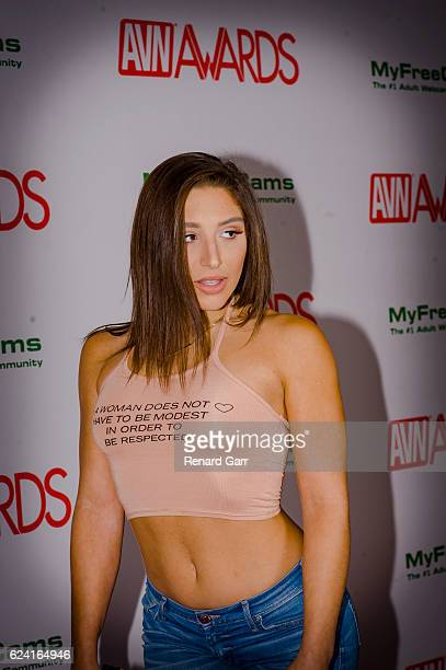 Actress Abella Danger arrives for 2017 AVN Awards Nomination Party at Avalon on November 17, 2016 in Hollywood, California.