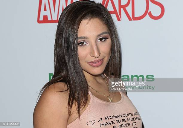 Actress Abella Danger attends the 2017 AVN Awards nomination party at Avalon on November 17 2016 in Hollywood California