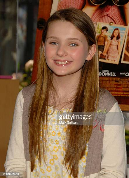 Actress Abigail Breslin announces special 10 day exclusive theatrical engagement of her new Picturehouse film Kit Kittredge An American Girl at the...
