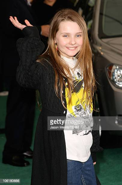 Actress Abigail Breslin arrives at Chevy Rocks The Future at the Buena Vista Lot at The Walt Disney Studios on February 19 2008 in Burbank California