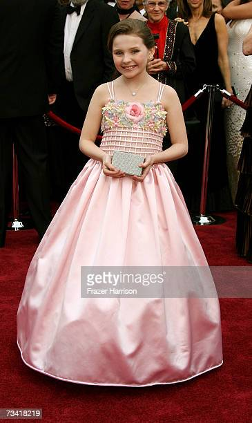 Actress Abigail Breslin attend the 79th Annual Academy Awards held at the Kodak Theatre on February 25 2007 in Hollywood California