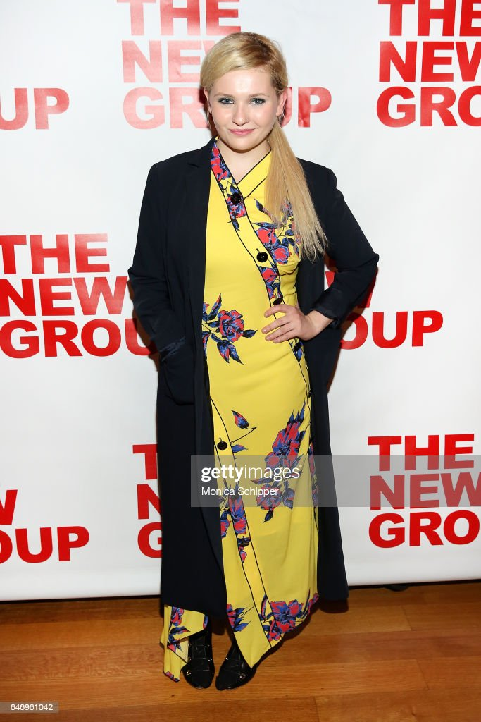 Actress Abigail Breslin attends 'All The Fine Boys' Opening Night on March 1, 2017 in New York City.