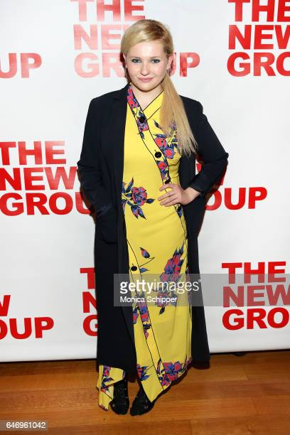 Actress Abigail Breslin attends 'All The Fine Boys' Opening Night on March 1 2017 in New York City