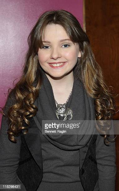 Actress Abigail Breslin attends Animal Fair Magazine's 3rd annual toys for dogs holiday PSA party at Cibar on December 4 2008 in New York City