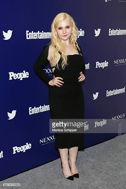 Actress Abigail Breslin attends New York UpFronts Party Hosted By People and Entertainment Weekly at The Highline Hotel on May 11, 2015 in New York...