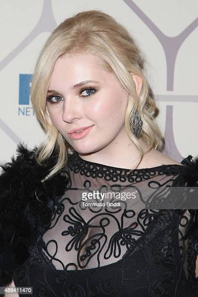 Actress Abigail Breslin attends the 67th Primetime Emmy Awards Fox after party on September 20 2015 in Los Angeles California