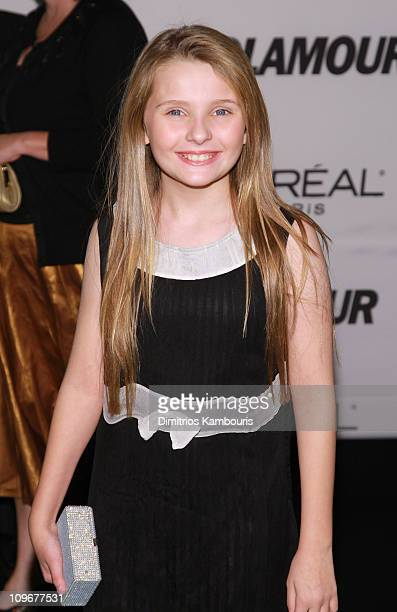 Actress Abigail Breslin attends The Glamour Magazine 2007 Women of The Year Awards at Lincoln Center's Avery Hall on November 5 2007 in New York City