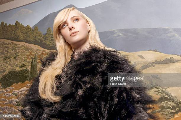 Actress Abigail Breslin is photographed for VVV Magazine on June 8 2015 in Los Angeles California