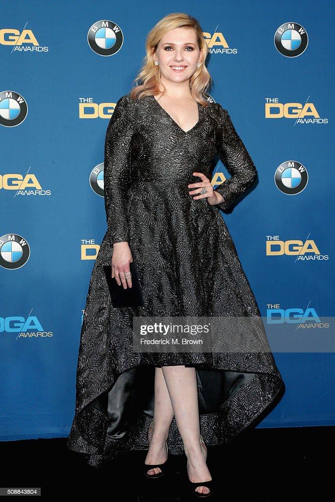 68th Annual Directors Guild Of America Awards - Press Room : News Photo