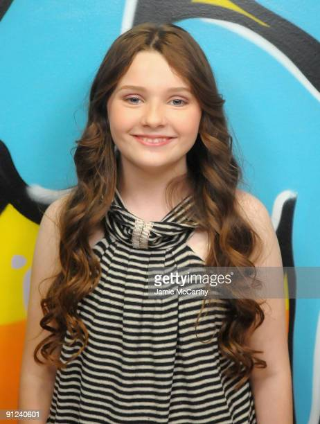 Actress Abigail Breslin visits fuse TV's Let It Rock at fuse Studios on September 29 2009 in New York City