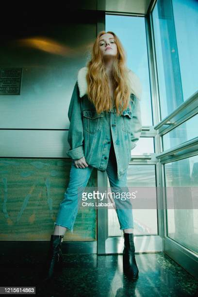 Actress Abigail Cowen is photographed on June 17, 2019 in Los Angeles, California.
