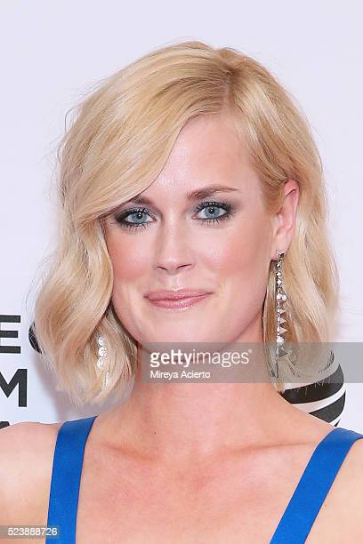 Actress Abigail Hawk attends 'Almost Paris' premiere during 2016 Tribeca Film Festival at Chelsea Bow Tie Cinemas on April 24 2016 in New York City
