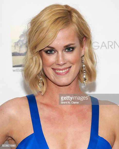 Actress Abigail Hawk attends the 'Almost Paris' premiere after party on April 24 2016 in New York City