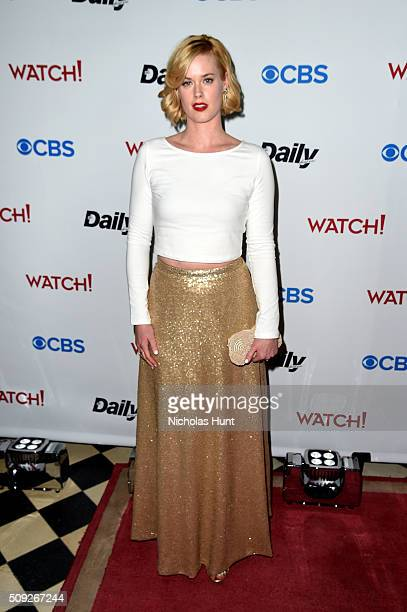 Actress Abigail Hawk attends The Daily Front Row's celebration of the 10th Anniversary of CBS Watch Magazine at the Gramercy Terrace at The Gramercy...