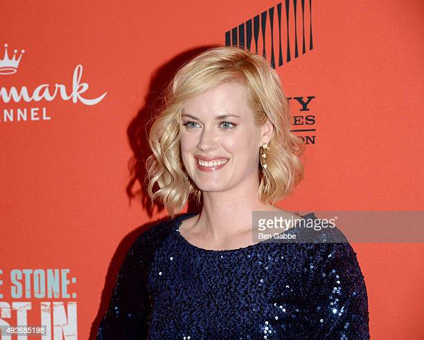 Actress Abigail Hawk attends the Jess Stone Lost In Paradise New York Premiere at Roxy Hotel on October 14 2015 in New York City