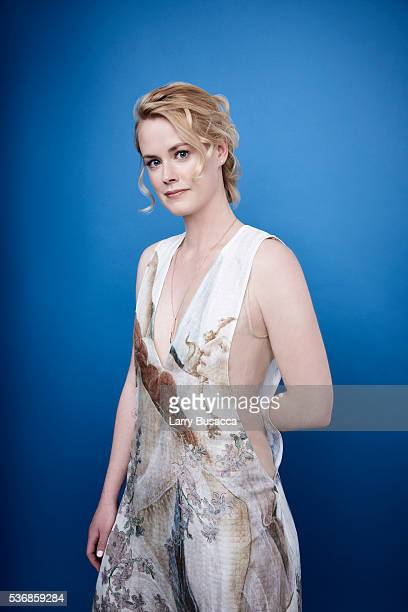Actress Abigail Hawk poses for a portrait at the Tribeca Film Festival on April 16 2016 in New York City