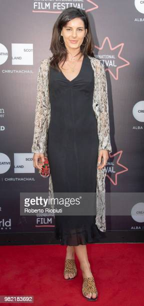 Actress Abigail Johns attends a photocall for the World Premiere of 'Lucid' during the 72nd Edinburgh International Film Festival at Cineworld on...