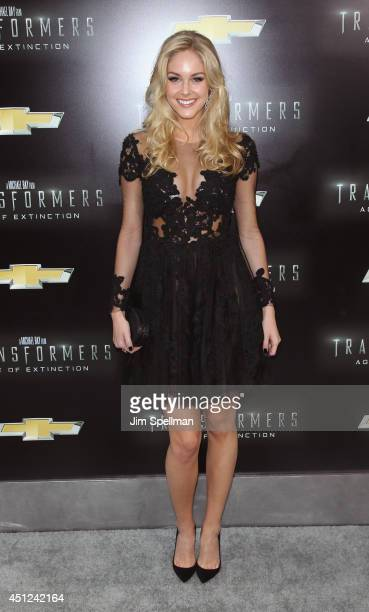 Actress Abigail Klein attends the 'Transformers Age Of Extinction' New York Premiere at the Ziegfeld Theater on June 25 2014 in New York City
