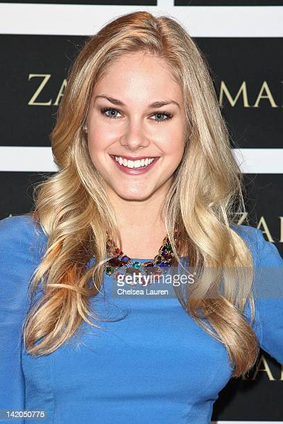 Actress Abigail Klein attends the Zaeem Jamal boutique launch on March 28 2012 in Los Angeles California