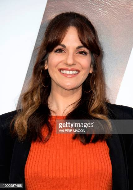 Actress Abigail Marlowe attends The Equalizer 2 Premiere at the TCL Chinese Theater on July 17 in Hollywood California