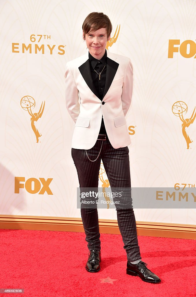 Actress Abigail Savage attends the 67th Emmy Awards at Microsoft Theater on September 20, 2015 in Los Angeles, California. 25720_001