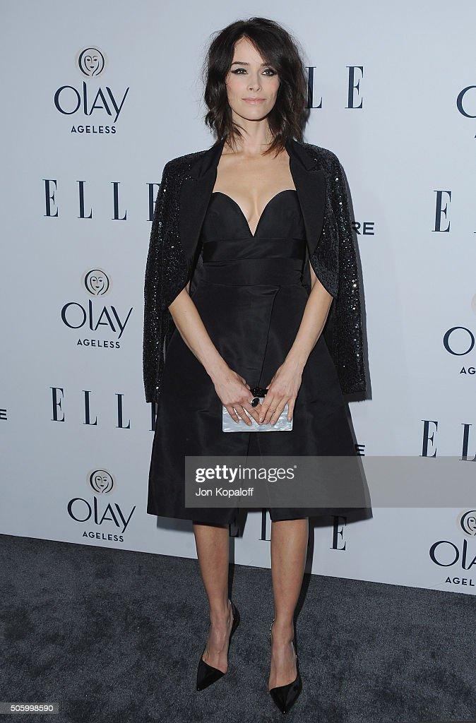 Actress Abigail Spencer arrives at ELLE's 6th Annual Women In Television Dinner at Sunset Tower Hotel on January 20, 2016 in West Hollywood, California.
