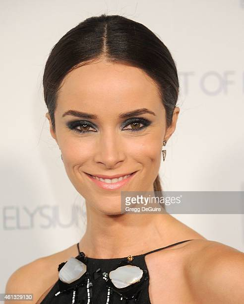 Actress Abigail Spencer arrives at The Art Of Elysium's 8th Annual Heaven Gala at Hangar 8 on January 10 2015 in Santa Monica California