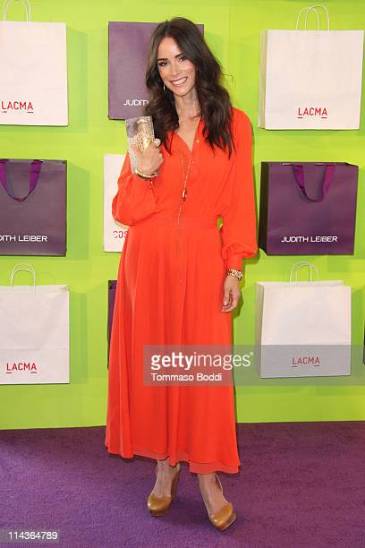 Actress Abigail Spencer arrives at The Costume Council Of The Los Angeles County Museum Of Art Honors Judith Leiber on May 18 2011 in Los Angeles...