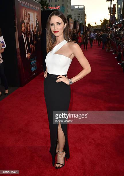Actress Abigail Spencer arrives at the premiere of Warner Bros Pictures' This Is Where I Leave You at TCL Chinese Theatre on September 15 2014 in...