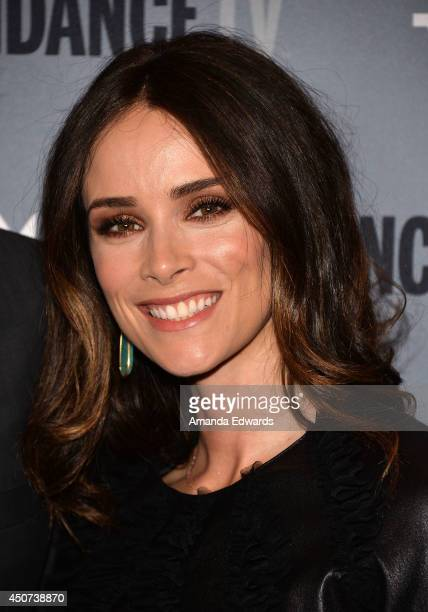 Actress Abigail Spencer arrives at the SundanceTV series 'Rectify' Season 2 premiere at the Sundance Sunset Cinema on June 16 2014 in Los Angeles...