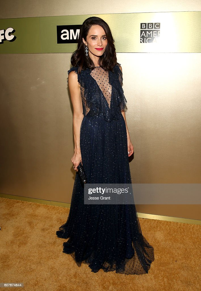 Actress Abigail Spencer attends AMC Networks Emmy Party at BOA Steakhouse on September 18, 2016 in West Hollywood, California.