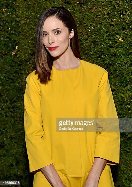 Actress Abigail Spencer attends Claiborne Swanson Frank's Young Hollywood book launch hosted by Michael Kors at Private Residence on October 2 2014...