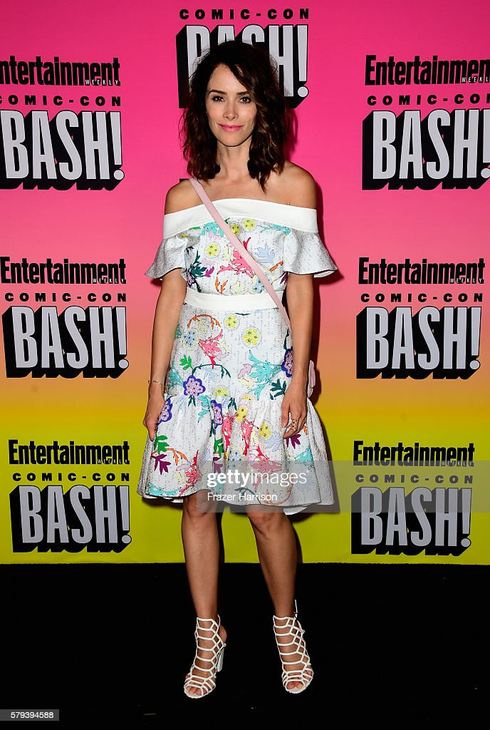 Actress Abigail Spencer attends Entertainment Weekly's Comic-Con Bash held at Float, Hard Rock Hotel San Diego on July 23, 2016 in San Diego, California sponsored by HBO.