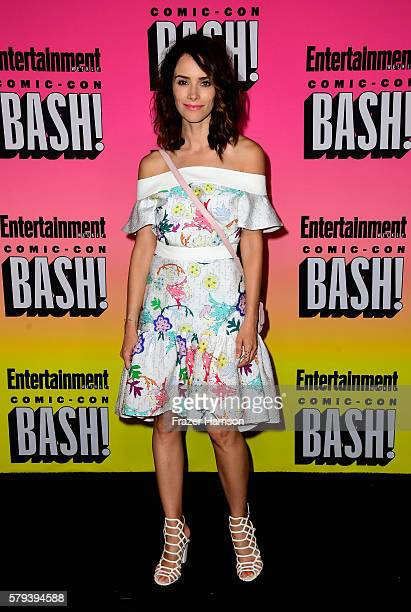 Actress Abigail Spencer attends Entertainment Weekly's ComicCon Bash held at Float Hard Rock Hotel San Diego on July 23 2016 in San Diego California...