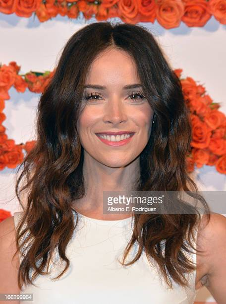 Actress Abigail Spencer attends the 3rd Annual Coach Evening to benefit Children's Defense Fund at Bad Robot on April 10 2013 in Santa Monica...