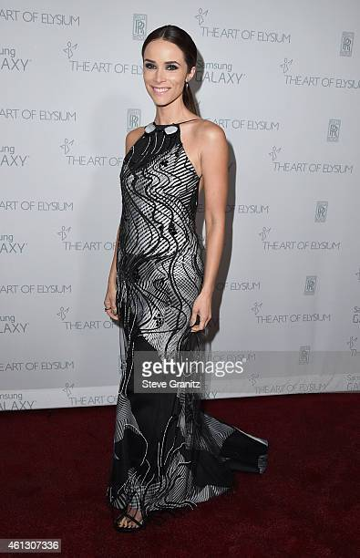 Actress Abigail Spencer attends The Art of Elysium 8th Annual Heaven Gala at Hangar 8 on January 10 2015 in Santa Monica California