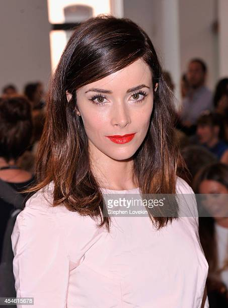 Actress Abigail Spencer attends The Creatures Of The Wind runway show during MercedesBenz Fashion Week Spring 2015 on September 4 2014 in New York...