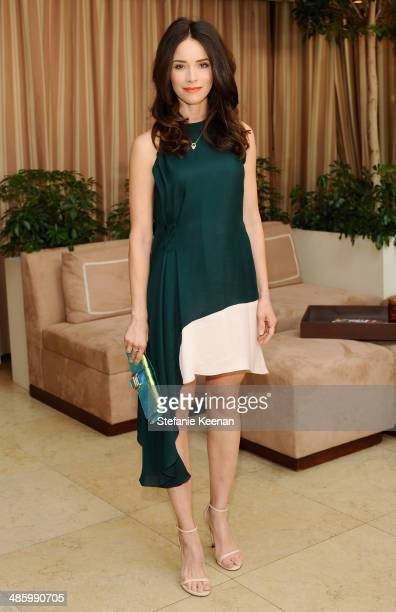Actress Abigail Spencer attends the Dior Beauty Operation Smile Luncheon at Sunset Tower on January 8 2014 in West Hollywood California