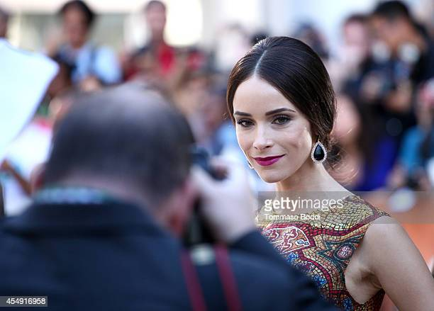 Actress Abigail Spencer attends the 'Miss Julie' premiere during the 2014 Toronto International Film Festival at Roy Thomson Hall on September 7 2014...