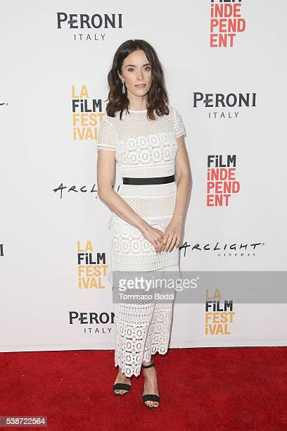 """Actress Abigail Spencer attends the premiere of """"The Sweet Life"""" during the 2016 Los Angeles Film Festival at Arclight Cinemas Culver City on June 7,..."""