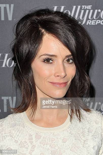 Actress Abigail Spencer attends the The Hollywood Reporter and SundanceTV's 2016 Sundance Film Festival Kickoff Party on January 22, 2016 in Park...