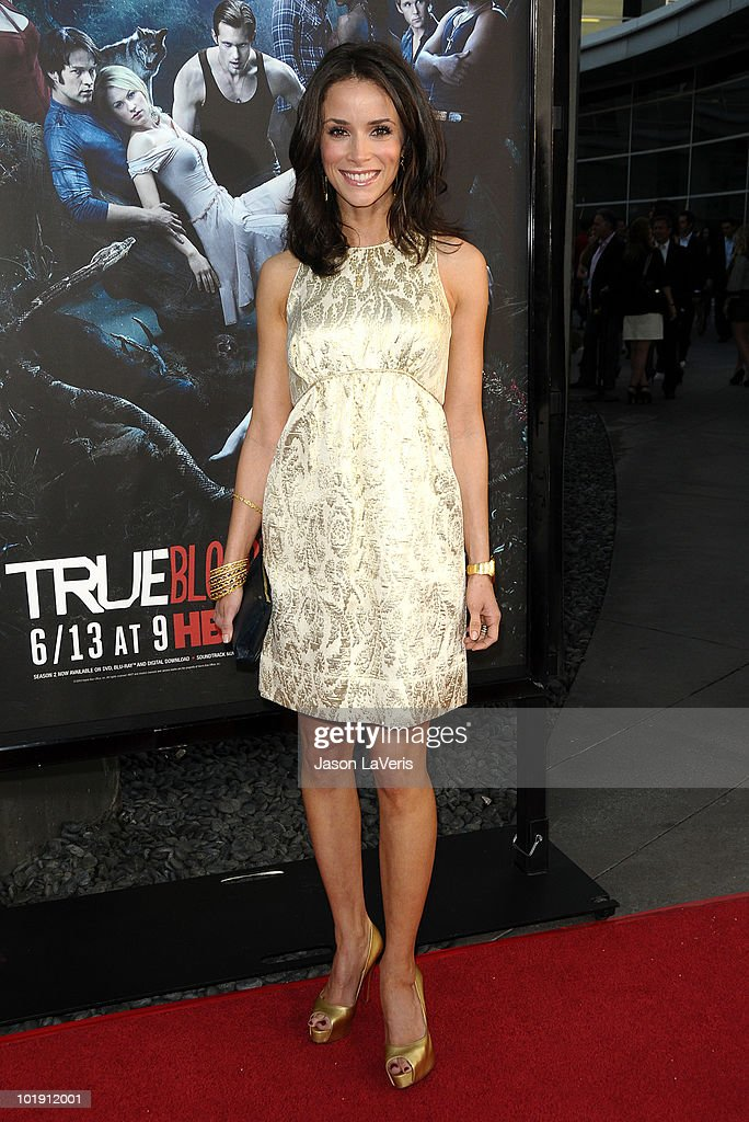Actress Abigail Spencer attends the third season premiere of HBO's 'True Blood' at ArcLight Cinemas Cinerama Dome on June 8, 2010 in Hollywood, California.