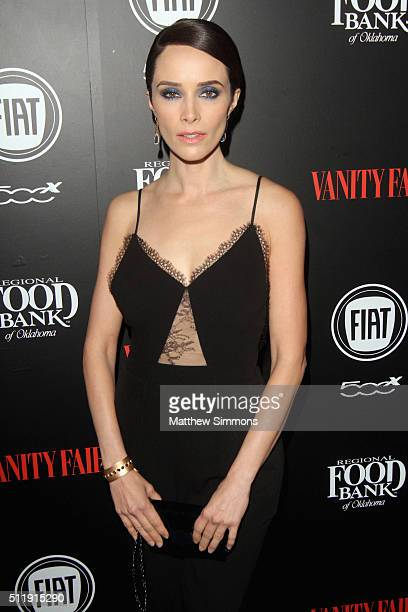 Actress Abigail Spencer attends Vanity Fair and FIAT Toast To Young Hollywood at Chateau Marmont on February 23 2016 in Los Angeles California