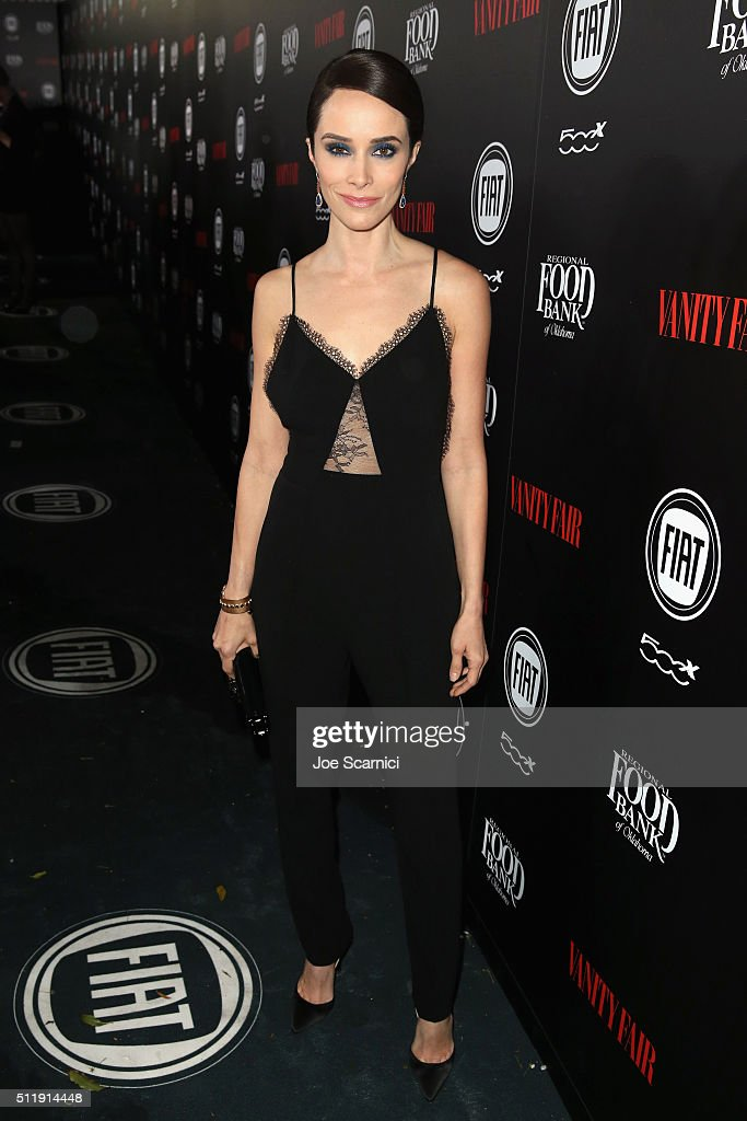 Actress Abigail Spencer attends Vanity Fair and FIAT Young Hollywood Celebration at Chateau Marmont on February 23, 2016 in Los Angeles, California.