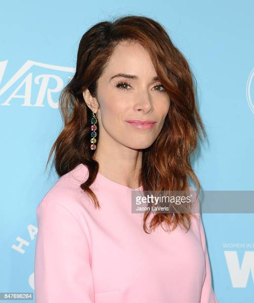 Actress Abigail Spencer attends Variety and Women In Film's 2017 preEmmy celebration at Gracias Madre on September 15 2017 in West Hollywood...
