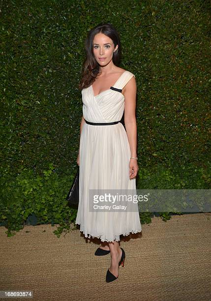 Actress Abigail Spencer attends Vogue and MAC Cosmetics dinner hosted by Lisa Love and John Demsey in honor of Prabal Gurung at the Chateau Marmont...