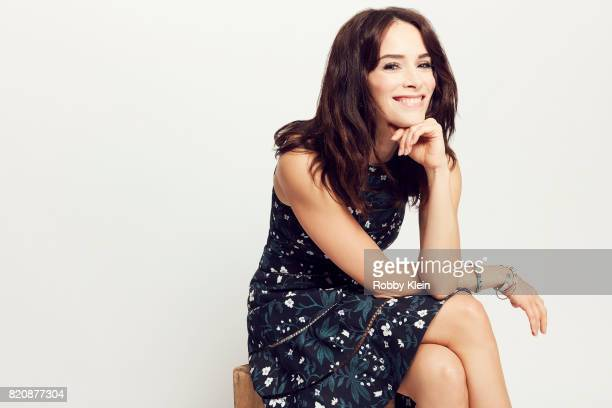 Actress Abigail Spencer from NBC's 'Timeless' poses for a portrait during ComicCon 2017 at Hard Rock Hotel San Diego on July 20 2017 in San Diego...