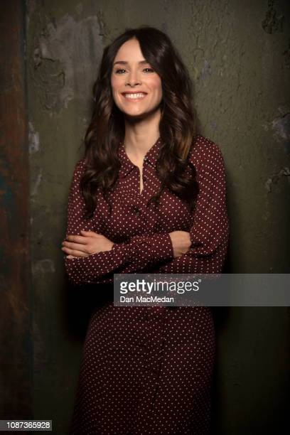 Actress Abigail Spencer is photographed for USA Today on November 6 2018 in Santa Clarita California