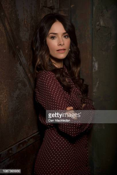 Actress Abigail Spencer is photographed for USA Today on November 6 2018 in Santa Clarita California PUBLISHED IMAGE